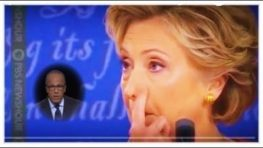 Hillary RIGGED Debate – Secretly Signals Moderator Lester Holt