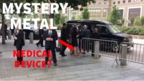 Mysterious Metal falls out of Hillary's Pant Suit