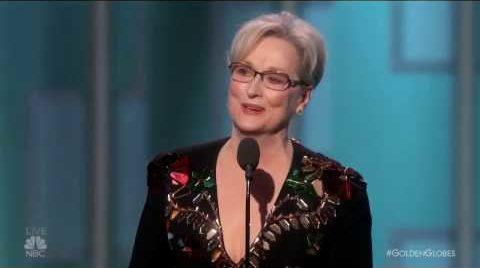 Meryl Streep Farting at Golden Globe Awards